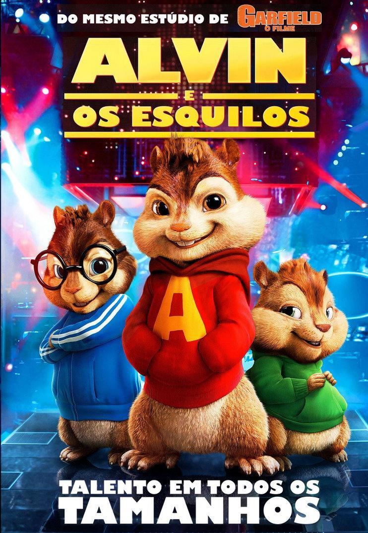 Alvin e os Esquilos - HD 720p